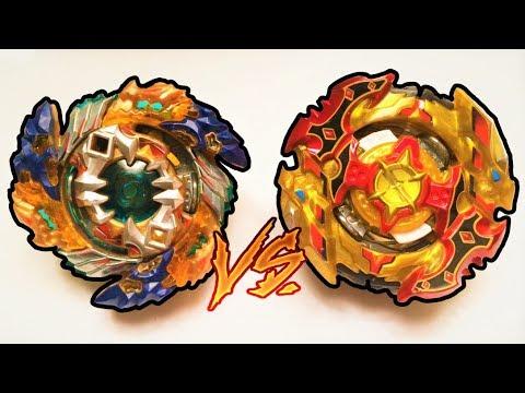 Cho-Z Spriggan 0W.Zt' vs Geist Fafnir 8'P.Ab : Beyblade Burst Cho Z / Super Z / Chozetsu