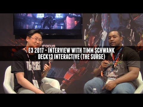 Yes, The Surge is getting DLC afterall. The E3 2017 Interview!