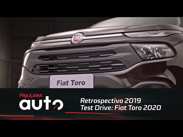 Retrospectiva 2019: Confira o Test Drive do Fiat Toro 2020