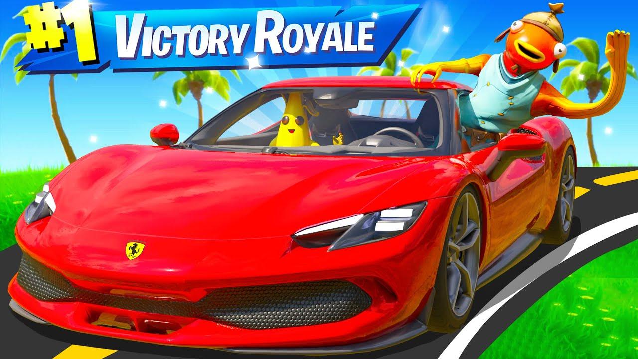 The Ferrari ONLY Challenge in Fortnite