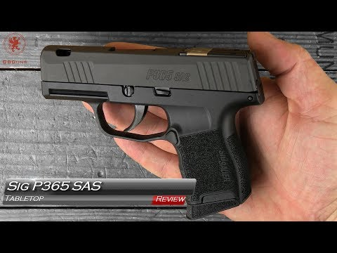 Sig P365 SAS Tabletop Review and Field Strip