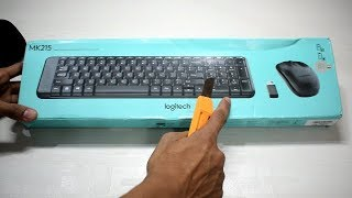 Logitech MK215 keyboard and mouse combo at only 1299/-
