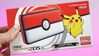 New Nintendo 2DS XL Pokéball Edition Unboxing & First Look | ALL Red Everything!
