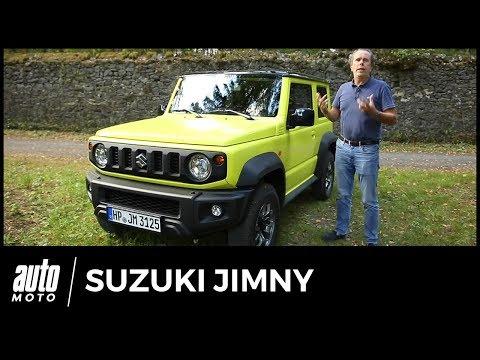 Suzuki Jimny 2018 - ESSAI : seul au monde