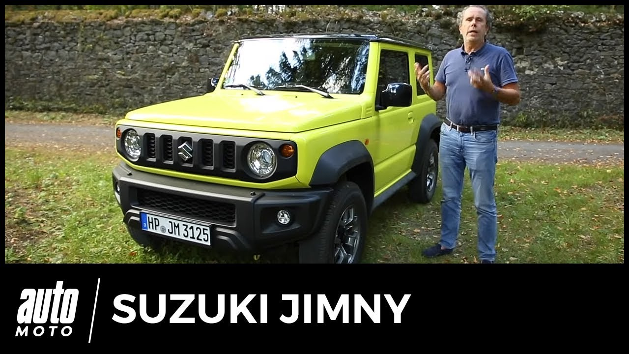 suzuki jimny 2018 essai seul au monde youtube. Black Bedroom Furniture Sets. Home Design Ideas