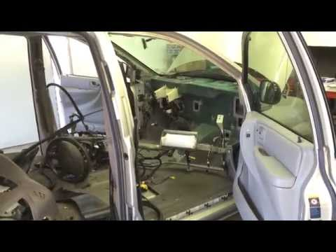 Dodge Caravan Dash Removed
