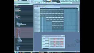 fl studio 10 how to make a house electro beat tutorial part 1