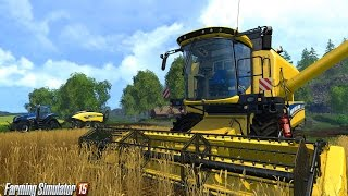 Farming Simulator 2015 - Cortando Árvores.