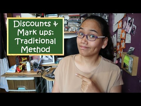Solving for Discounts and Mark Ups (Traditional Method) [CC] - Free Civil Service Review