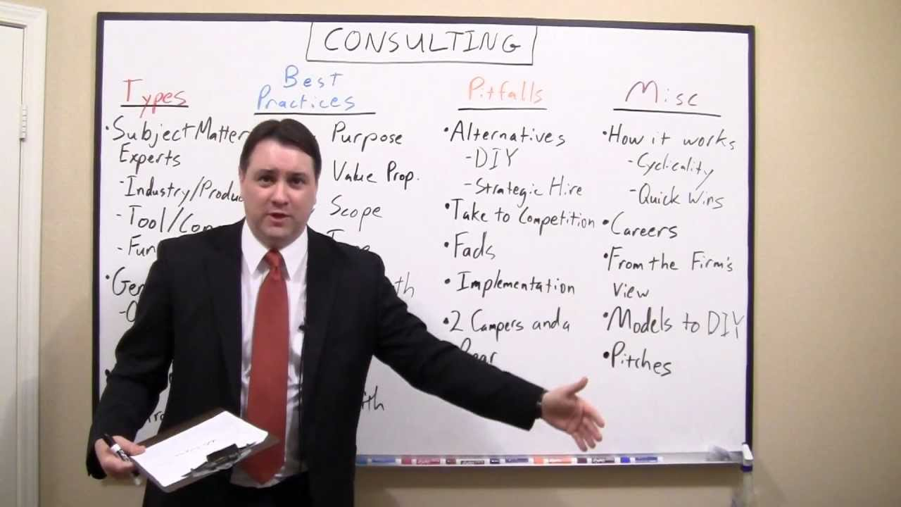 Sample of Keith White's Consulting presentation