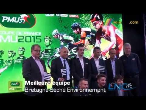 Remise de prix de la Coupe de France PMU 2015
