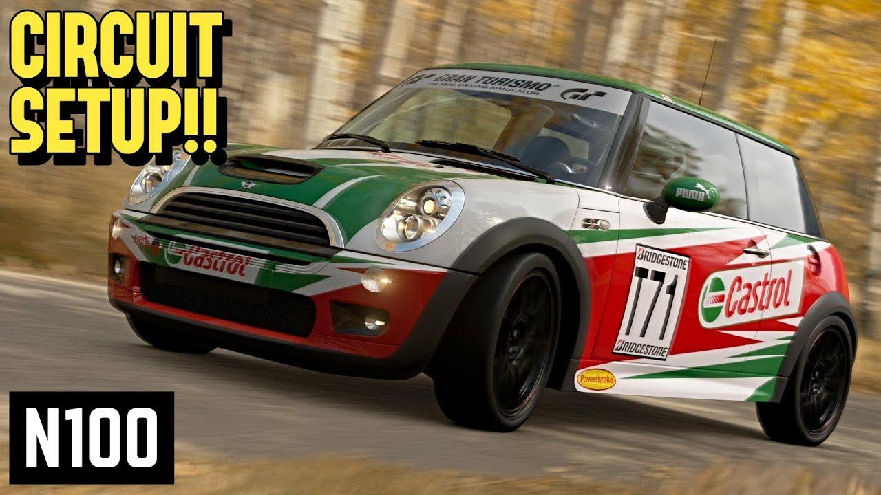 Gt Sport N100 Mini Cooper S Circuit Setup Youtube