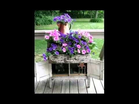 Shabby Chic Vintage Romantic Jardins Extérieurs Youtube