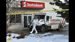 Explosion and robbery in north Edmonton
