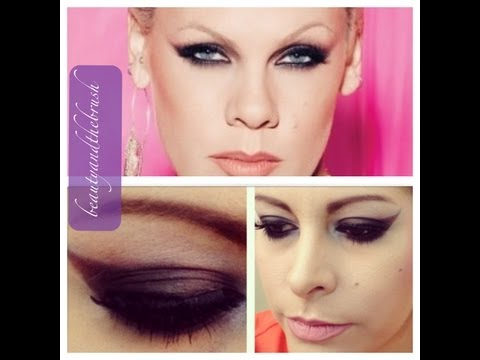P!nk Makeup Tutorial