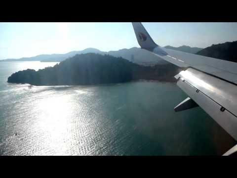Takeoff Kuala Lumpur Landing Penang Malaysia Airlines