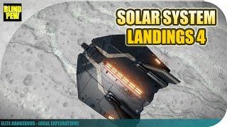 Elite Dangerous - Local Explorations - Solar System Landings Part 4: The Outer Planets
