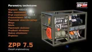 Agregaty prądotwórcze, kontenery specjalne, motopompy - AGREGATY PEX-POOL PLUS