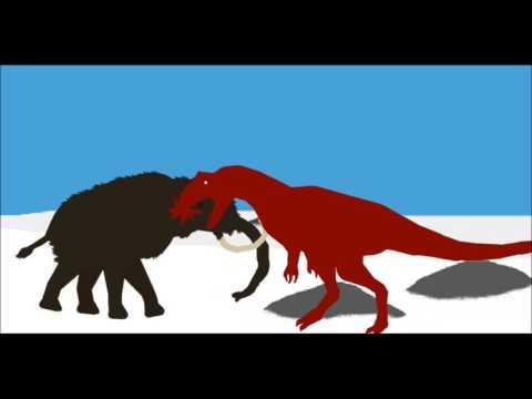 PPBA Mammoth vs Allosaurus