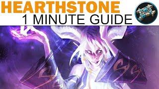 Hearthstone - 1 Minute Guide - Priest - Zetalot