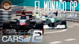 Project CARS 2 VR Gameplay – F1, Monaco GP
