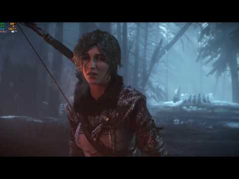 Rise of the Tomb Raider | Gameplay test | Rx560X | High Settings |