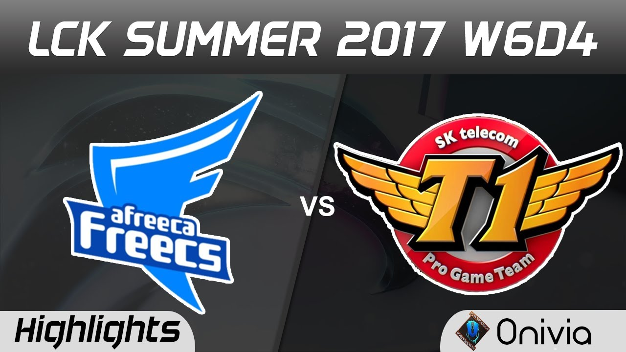 AFS vs SKT Highlights Game 1 LCK SUMMER 2017 Afreeca Freecs vs SK Telecom  T1 by Onivia