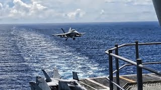 USS Ronald Reagan • Aircraft Carrier • Philippine Sea 2018
