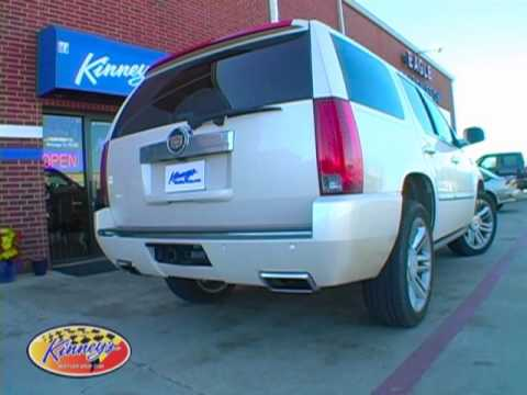 2013 cadillac escalade 6 2 liter true dual exhaust with flo pro by kinney s