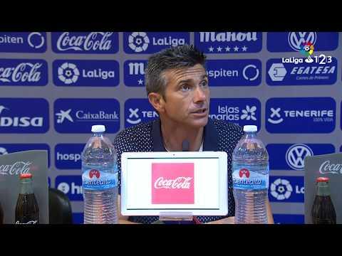 Rueda de prensa de José Luis Martí tras el CD Tenerife vs Cádiz CF (1-0)