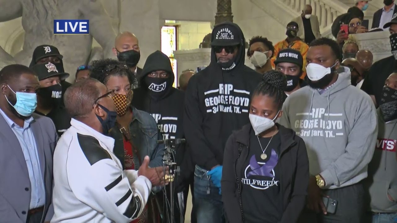 Friends of George Floyd Hold News Conference
