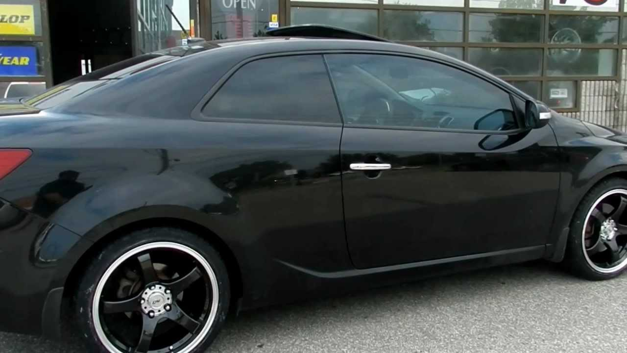 Kia Forte Sx 18 Youtube Wheels