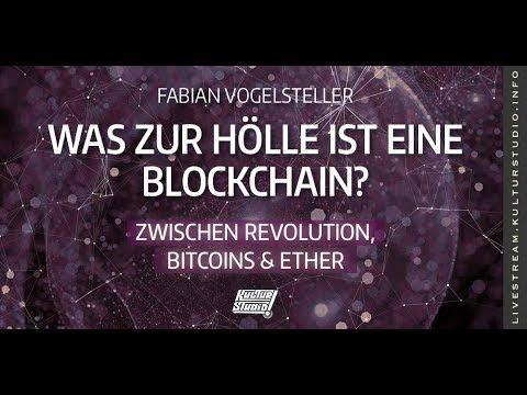 Was zur Hölle ist eine Blockchain - Zwischen Revolution, Bitcoins & Ethereum