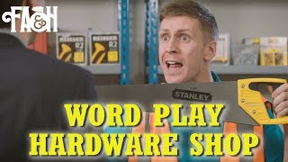 Word Play Hardware Shop - Foil Arms and Hog