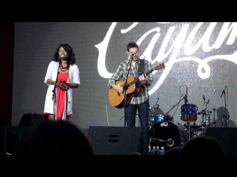 Glen Phillips and Ruby Amanfu on Cayamo 2013 music cruise