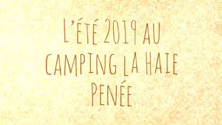 Vacances d'été 2019 au Camping la Haie Penée
