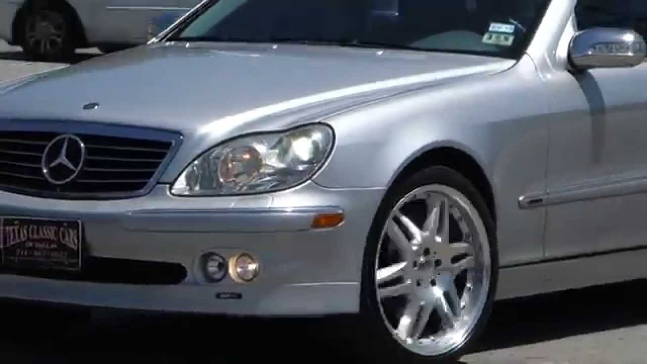 2003 mercedes benz brabus s500 4 matic youtube for Mercedes benz s500 2003