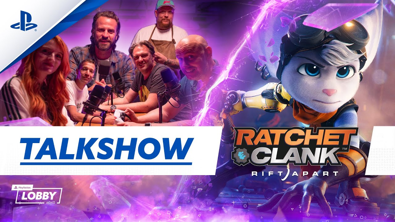 Ratchet & Clank: Rift Apart   PlayStation Lobby Talkshow /w Simon Zijlemans
