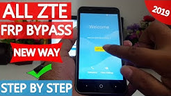 How To Bypass Google Lock (FRP) ZTE On Android 7 1 1 Nougat