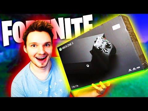 DAS ERSTE MAL AUF DER XBOX ONE X !!! (PLATZ 1?!) | Fortnite Battle Royale
