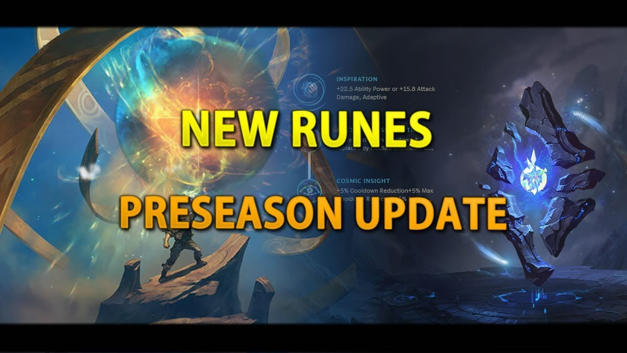 League New Rune System