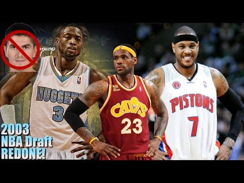Re-Picking the 2003 NBA Draft!