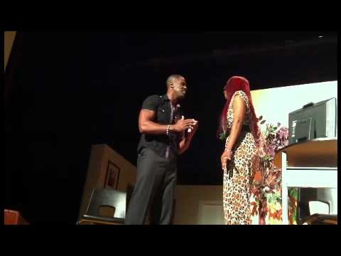 """Terrell Carer and TEISHA Singing to each other in 'The Bachelor's Pad"""" Chicago june 3 2012"""