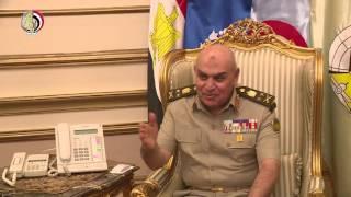 شاهد.. المتحدث العسكرى ينشر فيديو لقاء وزير الدفاع ونظيره اليونانى
