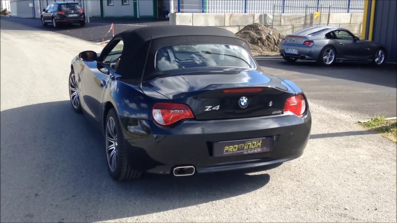 bmw z4 2 5 i pro inox nantes youtube. Black Bedroom Furniture Sets. Home Design Ideas