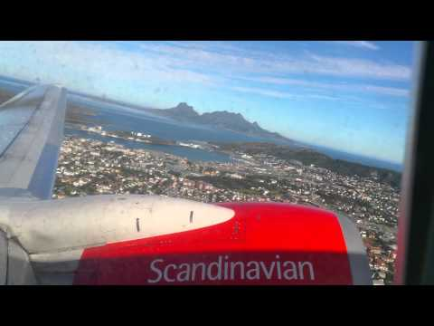 SK4107 panoramic takeoff Bodø 4K!