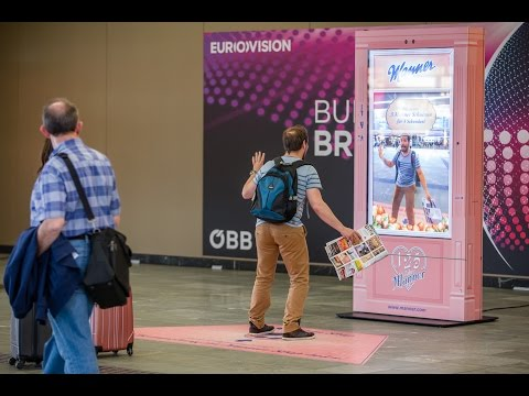 MANNER - Human Motion Tracking and Gesture Recognition - Interactive Digital Signage