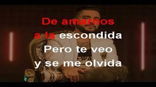 Dulce Pecado - Jessi Uribe (Karaoke)