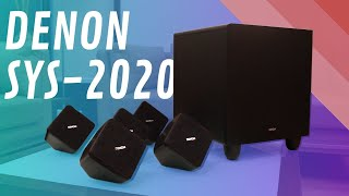Denon SYS 2020 Review –  5.1 Home theater Speakers with Subwoofer India