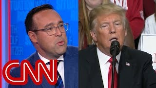 Chris Cillizza: President Trump knows how to walk the line